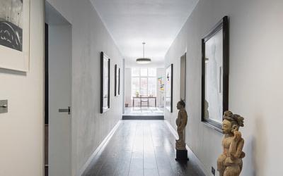 Collector's Flat London Mansion Block Renovation: ES Homes & Property