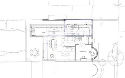 1930s Semi-detached London house extension and loft conversion case study